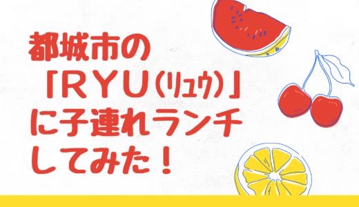 都城市「Ryu」に2歳のこどもと行ってみた!子連れも過ごしやすいお店